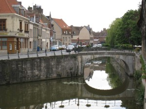 Canal in Bergues
